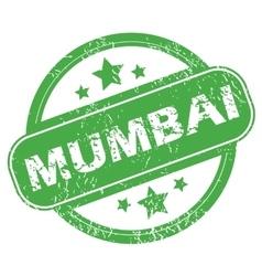 Mumbai green stamp vector