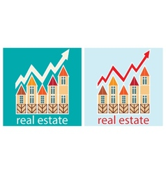 prices for real estate vector image