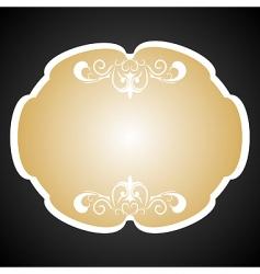 Royal background card for design vector