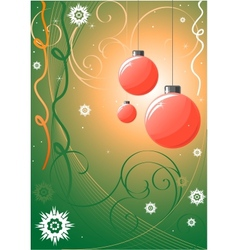 Christmass background vector image vector image