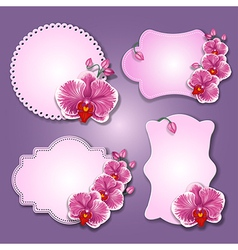 Greening cards vector image vector image