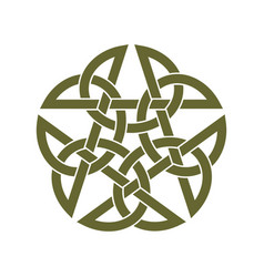 Celtic star knot vector