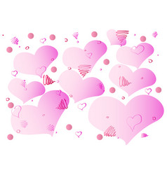 gentle abstraction with pleasant colors vector image