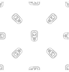 Glucometer pattern seamless vector