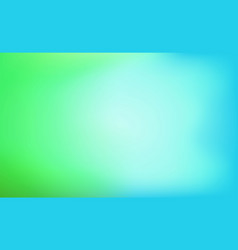 green and blue abstract background with blurred vector image
