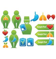 Health organs people medicine vector