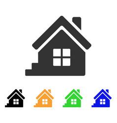 House porch icon vector
