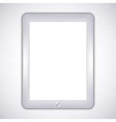 realistic computer tablet Eps10 vector image