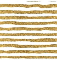 Seamless pattern of gold lines vector image