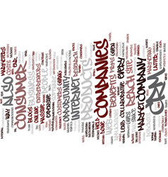 The power of crm text background word cloud vector