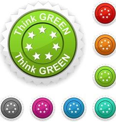 Think green award vector