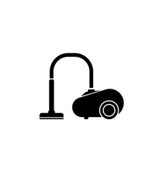 Vacuum cleaner flat icon vector