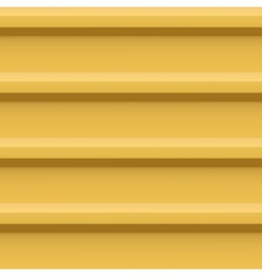 Yellow plank wall vector image