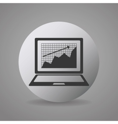 Money and financial market vector image