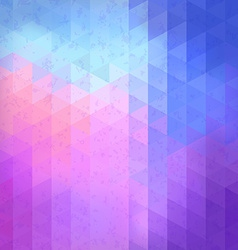 Geometric retro pattern with place for your text vector image vector image