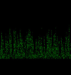 binary code cyber monday sale background vector image