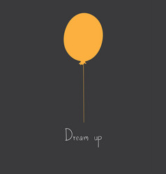 dream upsuccess creative and start up concept vector image