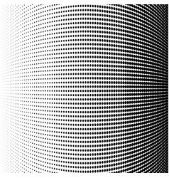 halftone dots format stylish vector image