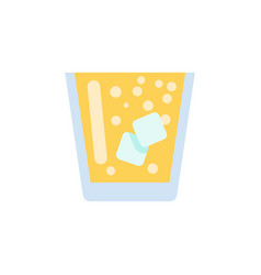 Isolated juice flat icon lemonade element vector