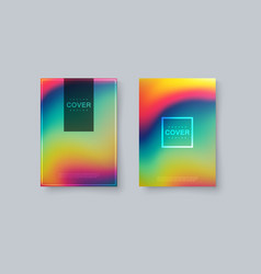 rainbow covers design vector image
