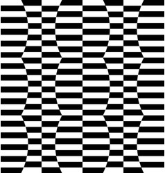 Repeatable distorted pattern with rectangles vector