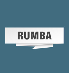 rumba vector image