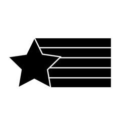 Star flag stripe design creative vector