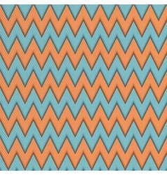 Seamless pattern with zig zag vector image vector image