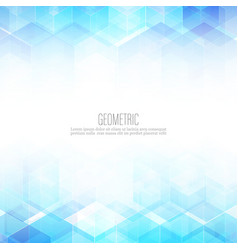 abstract science background hexagon geometric vector image