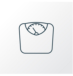 diet icon line symbol premium quality isolated vector image
