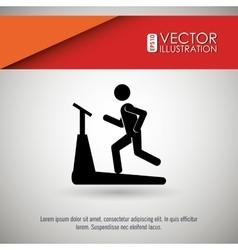 Fitness icon design vector