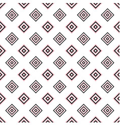geometrical seamless pattern - square design vector image