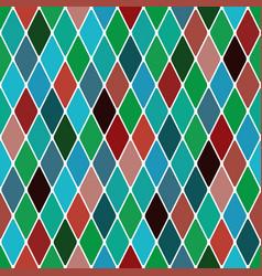 Harlequin mardi gras pattern vector