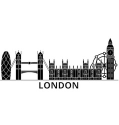 london architecture city skyline travel vector image