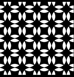 Monochrome seamless abstract geometrical star vector