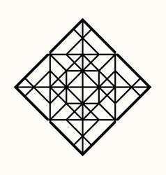 sacred geometry 0083 vector image