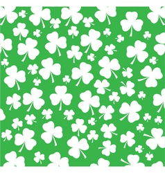 Shamrock white vector