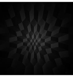 Black and white geometric background vector image vector image