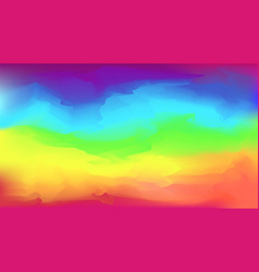 Abstract bright rainbow colors background vector