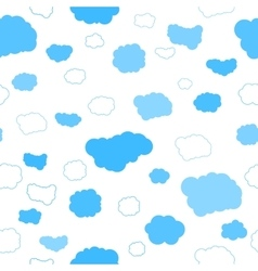 Best clouds seamless pattern vector