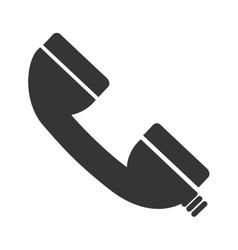 Callcenter phone service icon vector