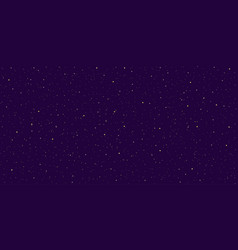 detailed realistic night starry violet sky vector image
