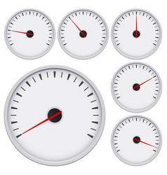 gauge universal blank measuring device vector image