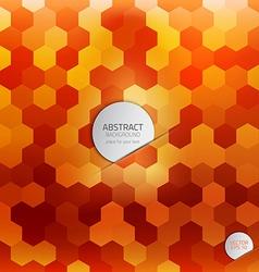 geometric poster 2 vector image