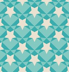 Geometric retro pattern vector