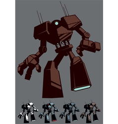 Giant Robot Isolated vector image