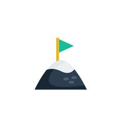goal icon vector image