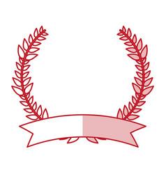 Laurel wreath design vector