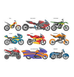 Motorcycle motorbike motoring cycle ride vector