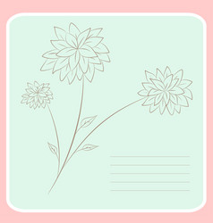 Notebook print vector